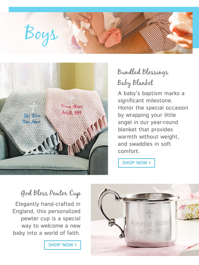 Christening Gifts For Baby Boys Baptism Gift Ideas For Boys Gifts Com