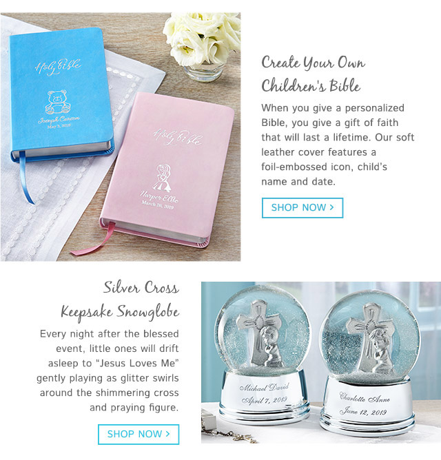 First Communion Gifts for Boys - Gifts.com
