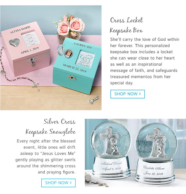First Communion Gifts for Girls - Gifts.com