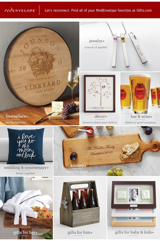 Shop Redenvelope Gifts At Gifts Com