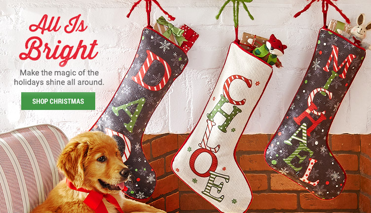 Personalized Festive Name Stockings